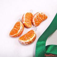 """Купить Бусины """"Дольки мандарина"""" из полимерной глины в интернет-магазине Sweesee.ru"""