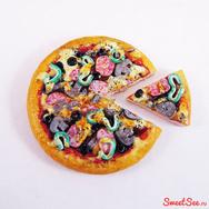 """Купить кукольную миниатюру """"Пицца"""" в интернет-магазине Sweetsee.ru"""