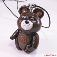"Купить Кулон ""Олимпийский Мишка"" в интернет-магазине Sweetsee.ru"