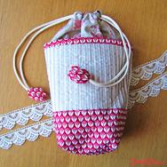 """Купить Большую женскую косметичку """"Красный тюльпан"""" в интернет-магазине Sweetsee.ru"""