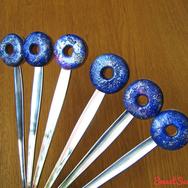 """Купить вкусную ложку из полимерной глины с пончиком """"Космопончик"""" в интернет-магазине Sweetsee.ru"""