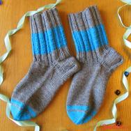 """Купить Мужские шерстяные носки """"Бравый моряк"""" в интернет-магазине Sweetsee.ru"""