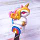 """Ложка для мороженого """"Единорог"""" с декором из полимерной глины"""