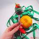 """Купить Вкусную Ложку с кексом """"Новогодний капкейк"""" из полимерной глины в интернет-магазине Sweetsee.ru"""